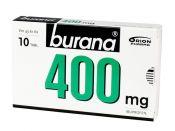 Burana 400 mg tabletti, kalvopäällysteinen 10 läpipainopakkaus