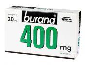 Burana 400 mg tabletti, kalvopäällysteinen 20 läpipainopakkaus