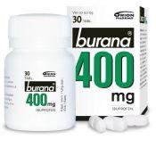 Burana 400 mg tabletti, kalvopäällysteinen 30 purkki