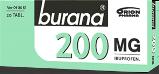 Burana 200 mg tabletti, kalvopäällysteinen 30 läpipainopakkaus