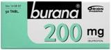 Burana 200 mg tabletti, kalvopäällysteinen 50 läpipainopakkaus