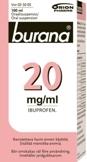 Burana 20 mg/ml oraalisuspensio 100 ml