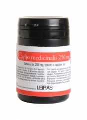 Carbo Medicinalis 250 mg tabletti 50