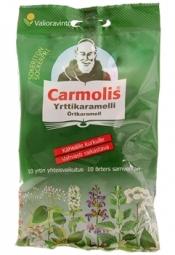 Carmolis Yrttikaramelli sokeriton 75 g