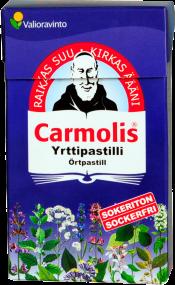 Carmolis sokeriton yrttipastilli 45g