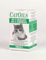 CatOils Iho & Limakalvot Omega-3 rasvahappovalmiste kissoille 100 ml