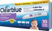 Clearblue Digital ovulaatiotesti kaksoishormoni 10 kpl