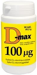D-max 100 µg 90 tabl.