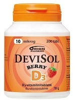 DeviSol Berry 10 µg 200 tabl.