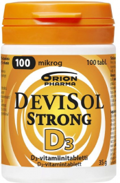 DeviSol Strong 100 µg 100 tabl.