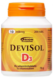 DeviSol 10 µg 200 tabl.