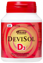 DeviSol 20 µg 200 tabl.