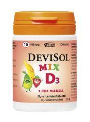 Devisol Mix 10 µg 100 tabl.