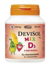 Devisol Mix 10 µg 200 tabl.