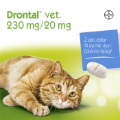 Drontal vet 230mg/20mg tabletti 2 läpipainopakkaus