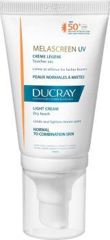 Ducray Melascreen Uv Light Cream SPF50+ UVA 40ml