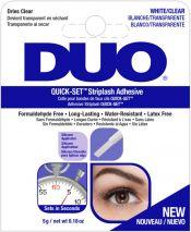 DUO Quick-Set Brush-On Lash Adhesive Clear - kirkas lateksiliima