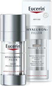 Löytö! Eucerin Hyaluron-Filler Night Peeling&Serum 30ml (parasta ennen 7/21)