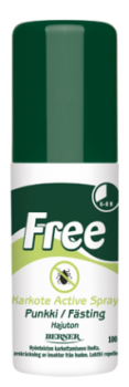 Free Punkkikarkote Active Spray 100 ml