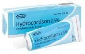 Hydrocortison 2,5 % emulsiovoide 20 g