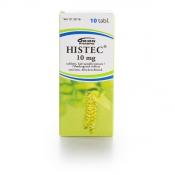 Histec 10 mg tabletti, kalvopäällysteinen 10 läpipainopakkaus