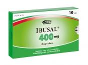 Ibusal 400 mg tabletti, kalvopäällysteinen 10 läpipainopakkaus
