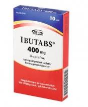Ibutabs 400 mg tabletti, kalvopäällysteinen 10 läpipainopakkaus