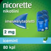 Nicorette Icemint 2 mg 80 kpl