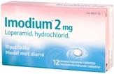 Imodium 2 mg suussa hajoava tabletti 12 läpipainopakkaus