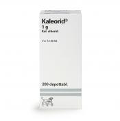 Kaleorid 1 g depottabletti 200