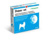 Dolpac vet tabletit keskikokoisille koirille 200,28/49,94/50 MG 6 fol