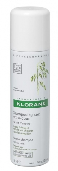 Klorane Gentle dry shampoo spray 150 ml