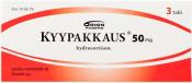 Kyypakkaus 50 mg tabletti 3 läpipainopakkaus
