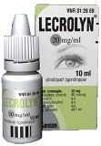 Lecrolyn 20 mg/ml silmätipat, liuos 10ml