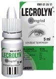 Lecrolyn 40 mg/ml silmätipat, liuos 5ml