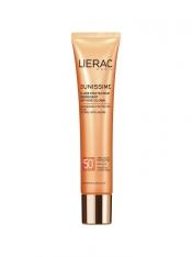 Lierac SUNISSIME - Energizing Protective Fluid Spf 50 - aurinkosuojavoide kasvoille 40 ml