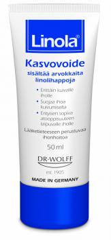 POISTO! Linola kasvovoide 50 ml (parasta ennen 04/2019)