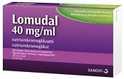 Lomudal 40 mg/ml silmätipat, kerta-annospipetti 60x0,35ml