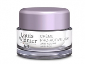 Louis Widmer Pro-Active Creme Light yövoide tuoksuton 50ml
