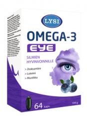 Lysi Omega-3 Eye 64 kapselia