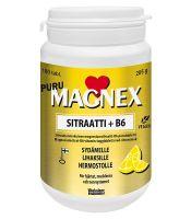 Magnex sitraatti 375 mg + B6 puru