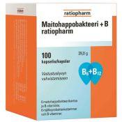 Maitohappobakteeri+B ratiopharm 100 kaps