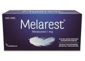 Melarest 1 mg melatoniinivalmiste 100 tabl. nieltävä