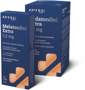 Poisto! Apteq Melatoniini Extra 1,5 mg