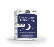 Melatoniini Orion 1 mg nieltävä