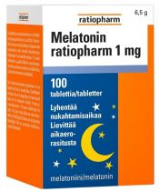 Melatonin ratiopharm 1 mg 100 tabl.