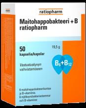 Maitohappobakteeri+B ratiopharm