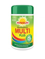Minisun monivitamiini Multi plus 200 tabl.
