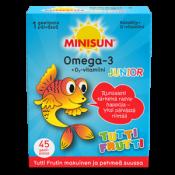 Minisun Omega Junior Tutti Frutti 45 geelipalaa