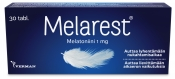 Melarest 1 mg melatoniinivalmiste